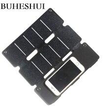 BUHESHUI Portable 16W 12W 8W extérieur ETFE panneau solaire chargeur pour téléphone Portable/batterie externe chargeur de batterie solaire étanche