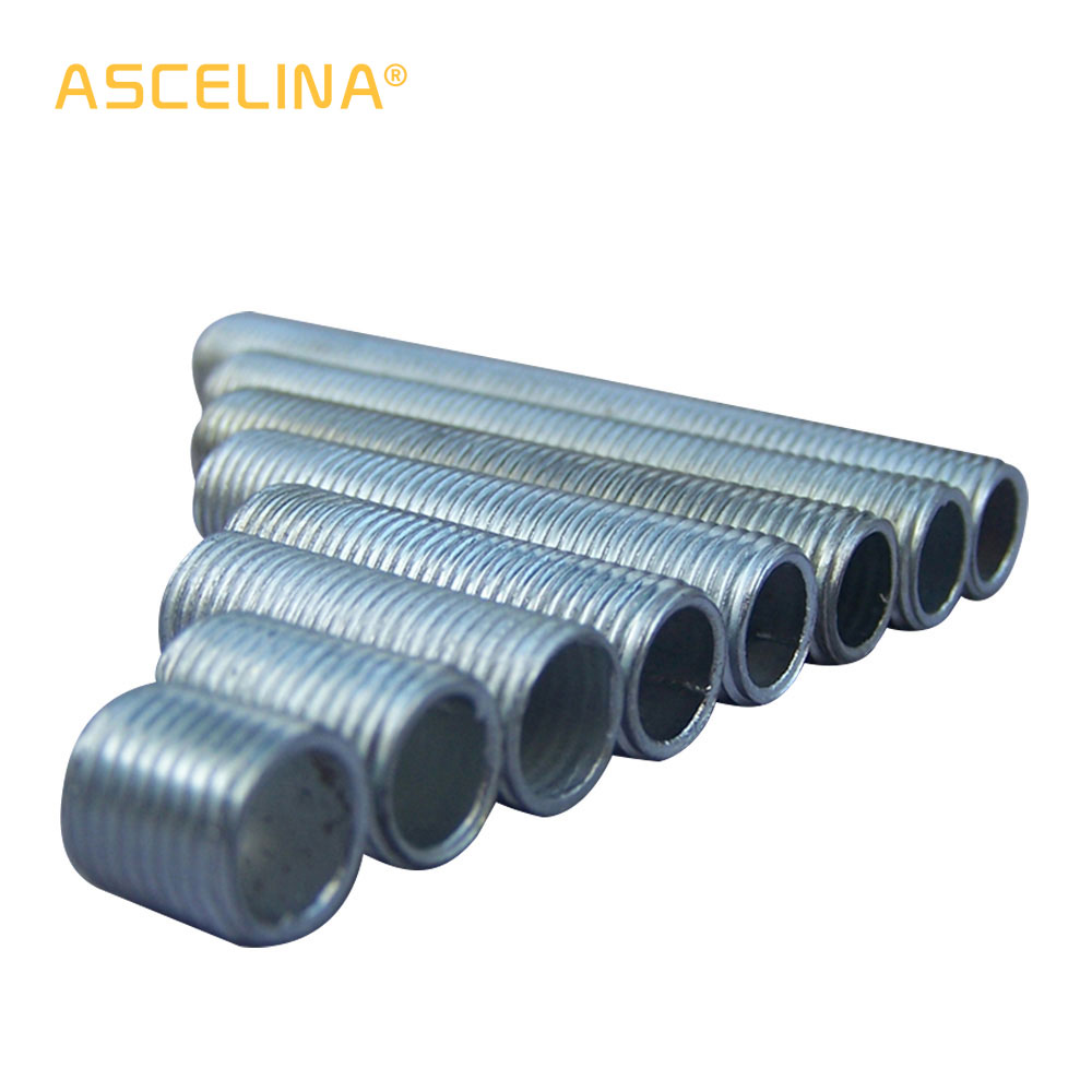 M10 20Ps Lamp Lighting Rod Connector Screw The Whole Tooth Section Tooth Pole M10 Hollow Screw Teeth Of Lighting Accessories Rod