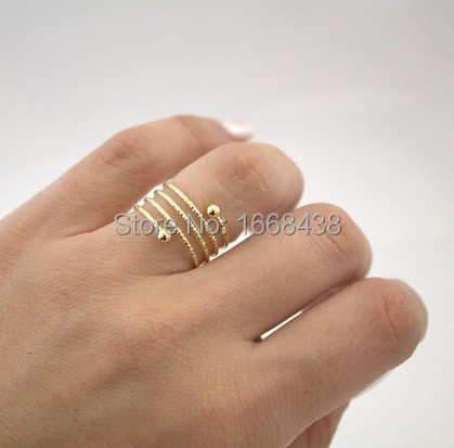 sterling silver finger midi spiral toe adjustable ring rings
