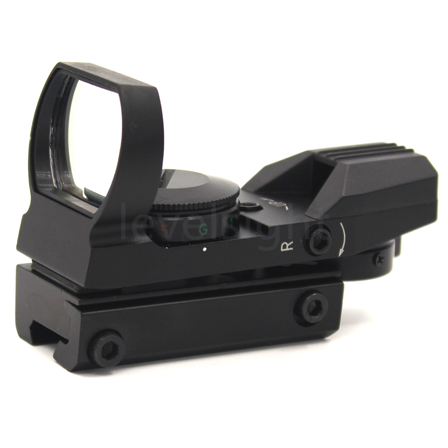 Reflex Green Red Dot Sight 11mm picatinny Rail Mount 20mm Scope Mount Hunting Scope -RD1121