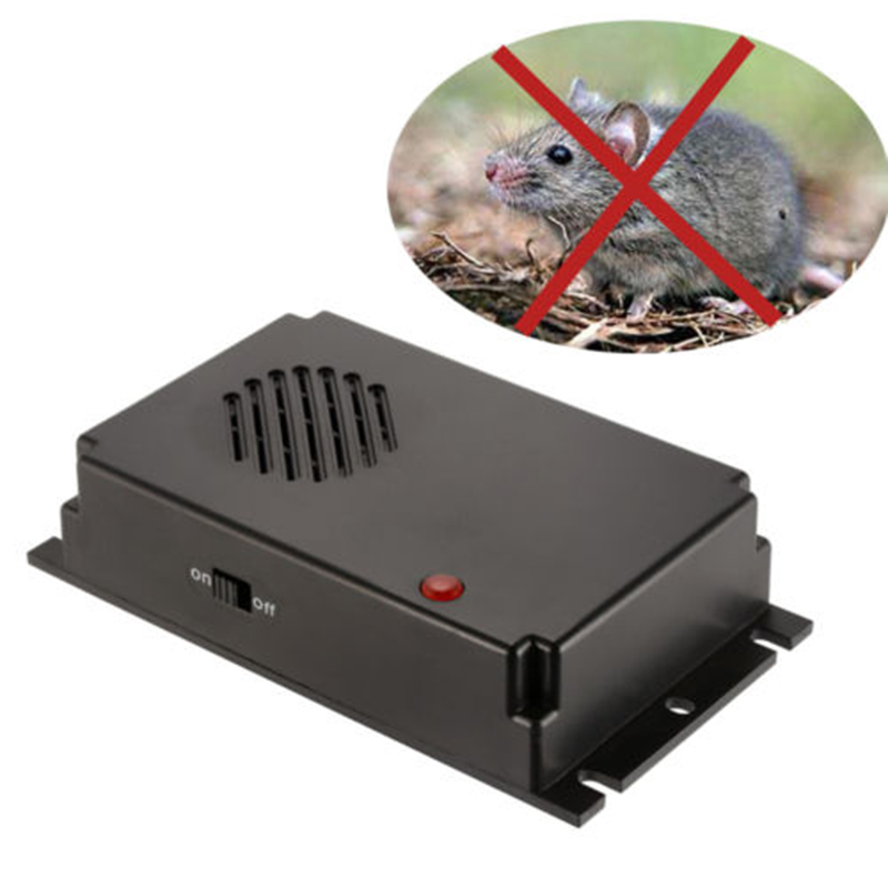 1 Pcs Multifuction Ultrasonic Car-styling Pest Mouse Mice Rat Repeller Cat Dog Rodent Bug Deterrent Mole Electronic Control Trap