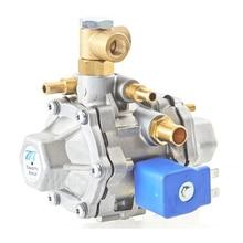 Redutor de Pressão de GNV TOMASETTO AT12 Modelo Versão Standard com Válvula Solenóide De Baixa Pressão para Sistema de Injeção Seqüencial