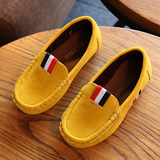 De lujo 2017 de primavera chicos creepers loafers slip on childen kids casual shoes niños barco shoes bebé mocasines zapatos ninos