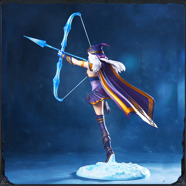 LOL League of Legends figure Action Game Ashe Model Toy action-figure 3D Game Heros anime party decor boy Creative Gift 3