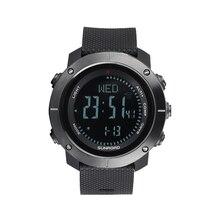 Multifunctional Outdoor Smart Digital Sports Wrist Watch Compass Altimeter Barometer Military 5ATM Water Fitness Equipment