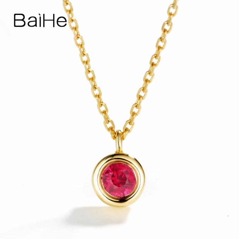 18K Yellow Gold Women/'s Natural Round Diamond /& White Agate Anchor Chain Pendant