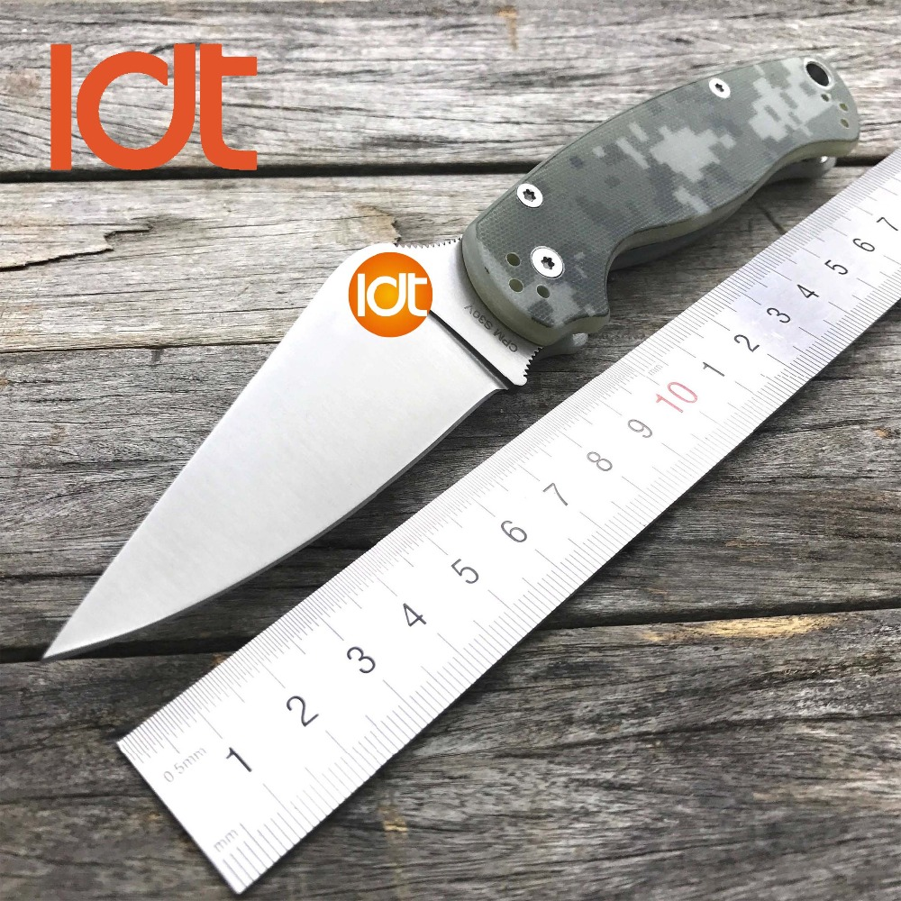 LDT C81 Folding Knives CPM S30V Blade G10 Handle Tactical Knife Military Camping Survival Pocket Hunting Knife Outdoor EDC Tools oem gear heat fixed blade knife cpm s30v blade tactical knife camping hunting survival knives utility pocket cutter edc tools