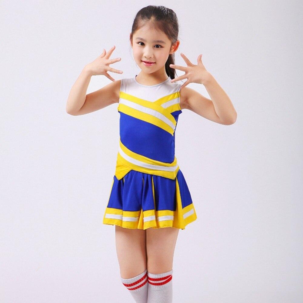 Niños que animan el vestuario de los estudiantes aeróbicos ropa - Novedad