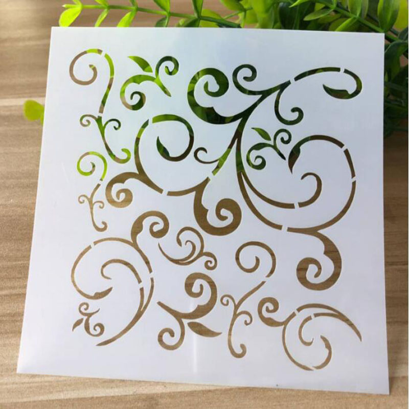 Stencils Drawing Scrapbooking Photo Album Decorative Embossing Bullet Journal Stencils Paper Craft Template For Painting Wall