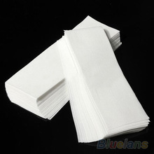 100 pcs Hair Removal Depilatory paper Nonwoven Epilator Wax Strip Paper Roll Waxing 013C