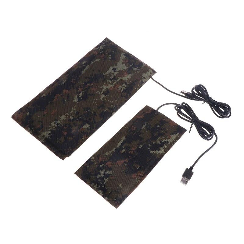 Pet USB Тепловой коврик рептилия углеродного волокна теплее постоянной температуры Водонепроницаемый Кровать
