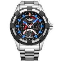YELANG V1208 мужские профессии военный водонепроницаемый себя световой спортивные наручные кварцевые часы