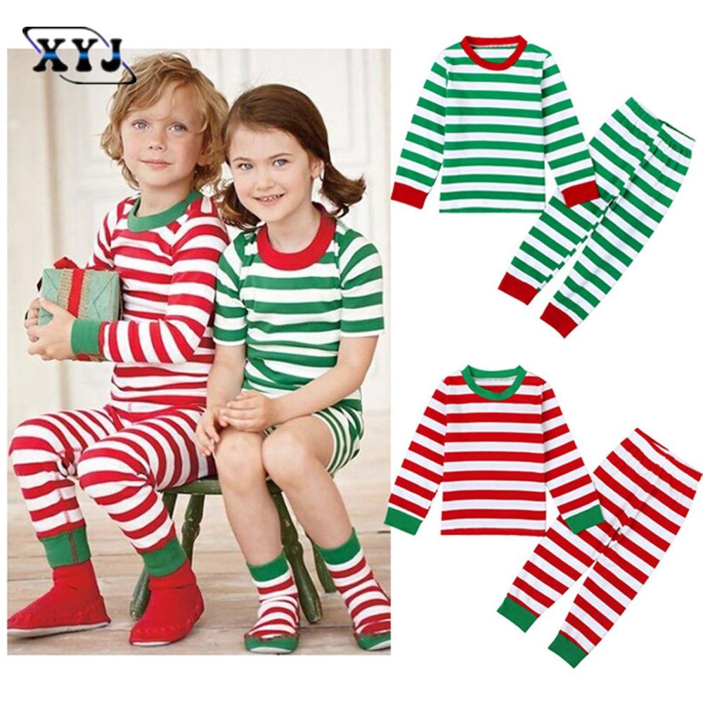 Online Get Cheap Striped Christmas Pajamas -Aliexpress.com ...