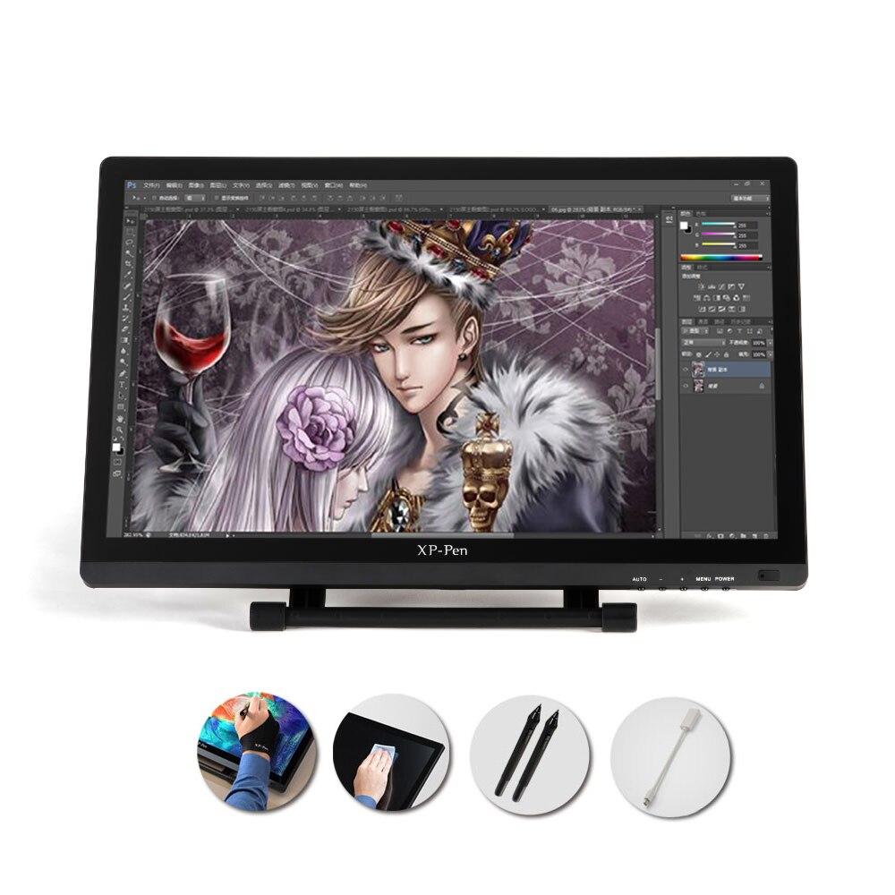 22 hd ips de la pantalla gráfica dibujo pintura pluma disaplay pantalla dual modo de monitor de soporte ajustable para apple macbook