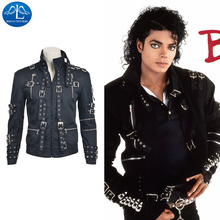 New Arrival Chic Men Black Michael Jackson Jacket Cosplay Costume Carnival For Hot Sale