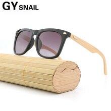 7d98e4839ad2e GY Espelho Revestimento de Madeira Do Vintage Óculos De Sol dos homens  Polarizados marca designer óculos de sol de madeira de Ba.