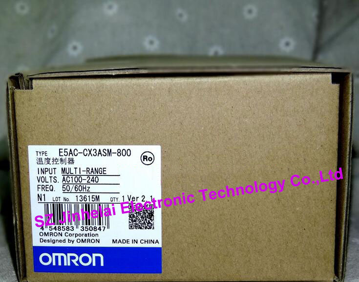 100% New and original E5AC-CX3ASM-800 OMRON AC100-240V DIGITAL CONTROLLER (Can replace E5AZ-C3T) wa 55 17 5 коробка круг бол