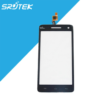 100% NEW Original 5″ Wiko Rainbow Capactive Touch Screen Digitizer Front Glass Replacement Parts Hot Selling