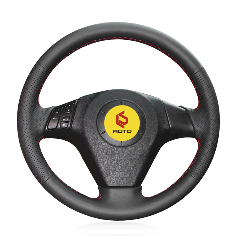 Braid on the Steering Wheel Cover for Mazda 3 Axela 2003-2009 Mazda 6 Atenza 2004-2008 Mazda 5 2004-20 Tampa do volante do carro цена 2017