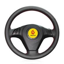 Braid on the Steering Wheel Cover for Mazda 3 Axela 2003-2009 Mazda 6 Atenza 2004-2008 Mazda 5 2004-20 Tampa do volante do carro цена