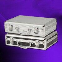 Freies verschiffen Tragbare aluminium toolbox instrument fall medizin ausrüstung teil werkzeugkoffer Kosmetischen Box werkzeug Datei box verpackung