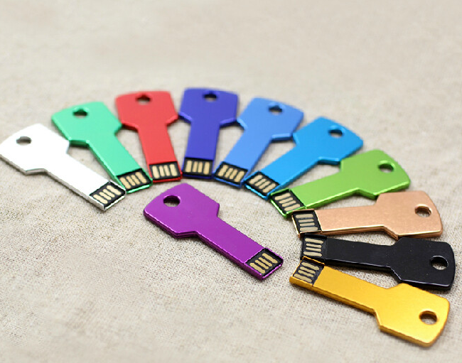 100% Genuine Gift Metal Key USB Flash Drive Pen Drive Card Memory Stick Drives 16GB USB Flash Drive Data LOGO S44