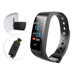 Nuevos deportes relojes inteligentes hombres de detección inteligente relojes mujer reloj de moda Top marca de lujo impermeable reloj pantalla a Color