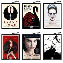 Black Swan Classic Movie White Kraft Paper Painting Art Print Poster Wall Picture For Home Decor 42X30cm