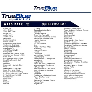 Image 5 - Dealonow 64G/32G אמיתי כחול מיני Crackhead חבילה/ספיד חבילה/עשב חבילה/להילחם חבילה עבור פלייסטיישן אביזרי עם מיני USB רכזת