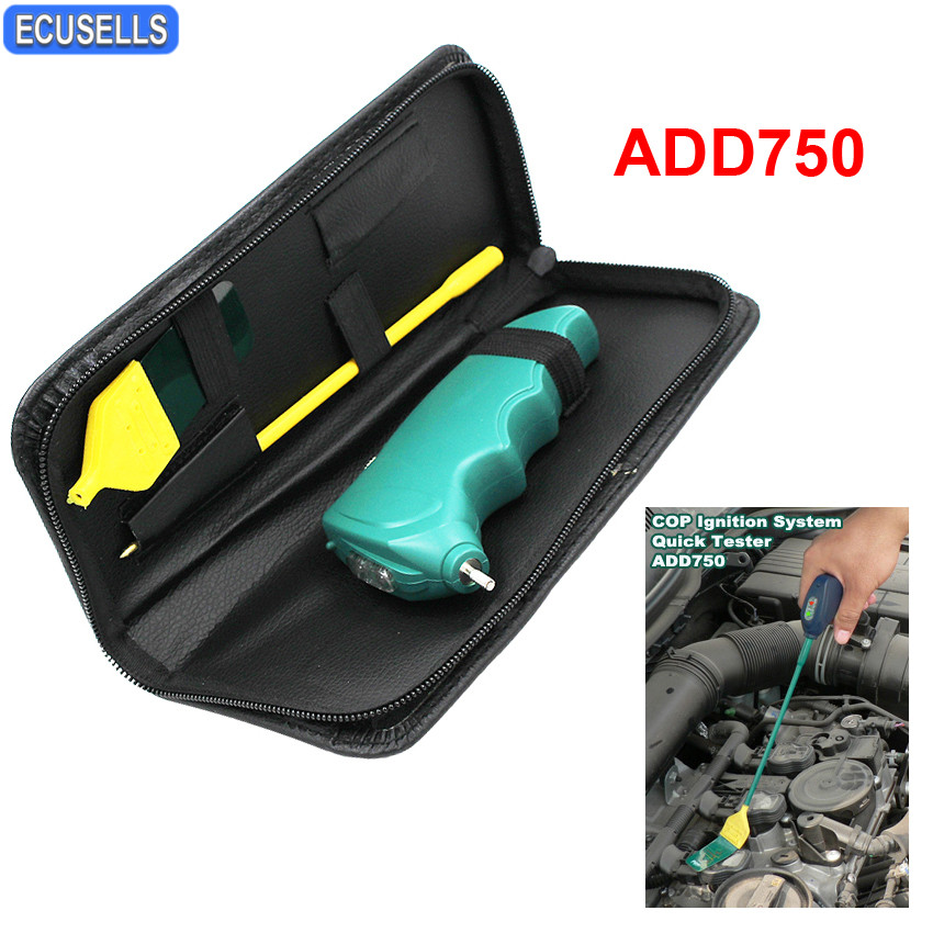 High Quality Auto Coil On Plug Checker COP Ignition System Quickly Tester ADD750 Hand held Quick