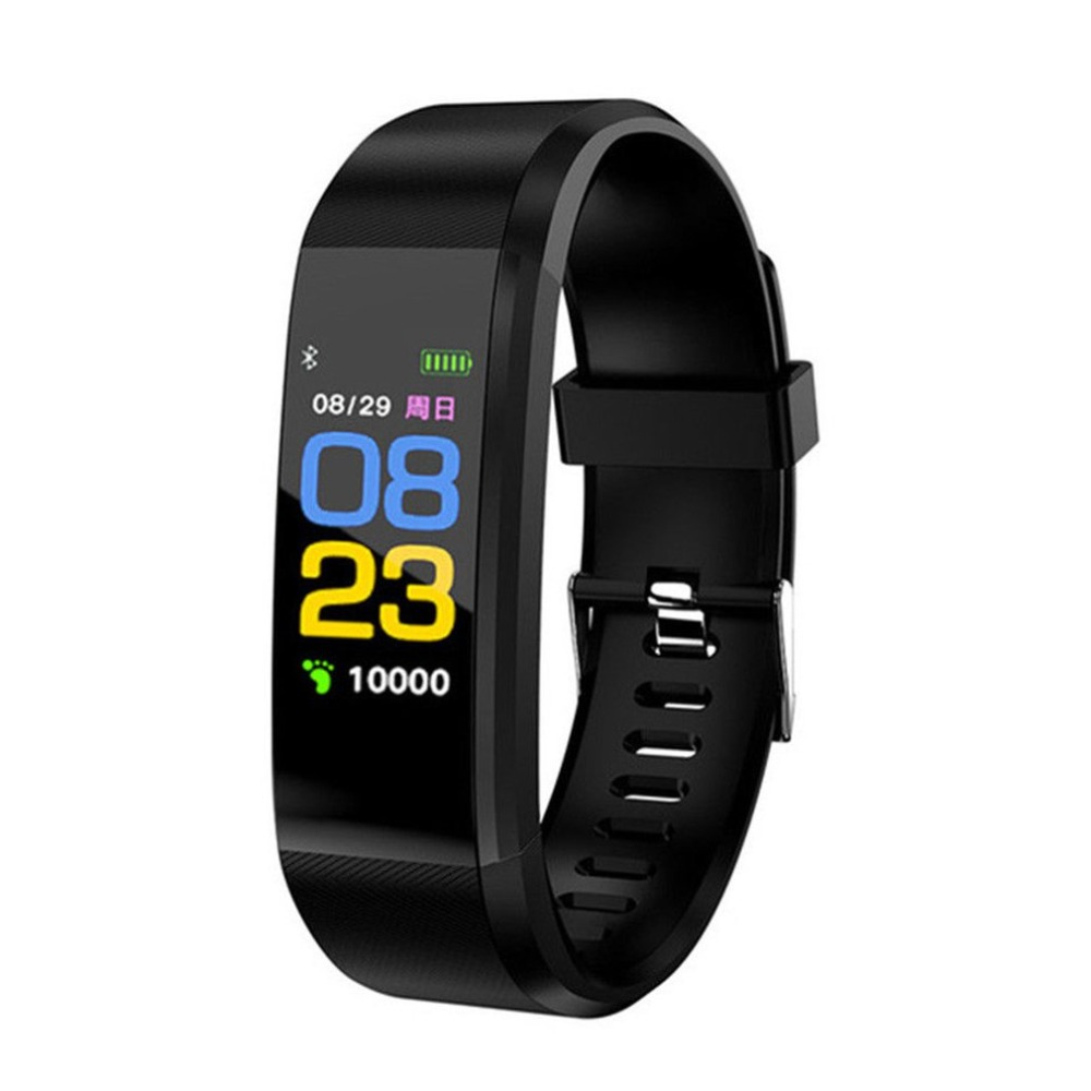 SchöN 115 Plus Wasserdichte Smart Armband Sport Smart Uhr Herz Rate Fitness Tracker Männer Smart Armbänder Für Android Ios Smart Band Preisnachlass Sport & Unterhaltung