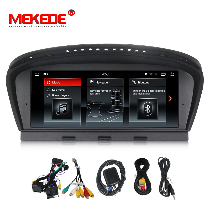 New arrival! ID6 IPS Android 7.1 Car multimedia player radio GPS for BMW 5 Series E60 E61 E63 E64 E90 E91 E92 CCC CIC system E60