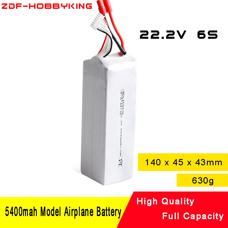 ZDF new 22.2V 5400MAH 6S li-po battery for Walkera Scout X4 TALI H500 aircraft cars & boat игрушка на радиоуправлении walkera h500 rtf devo f12e g 3d ilook fpv cb86plus gps tali h500