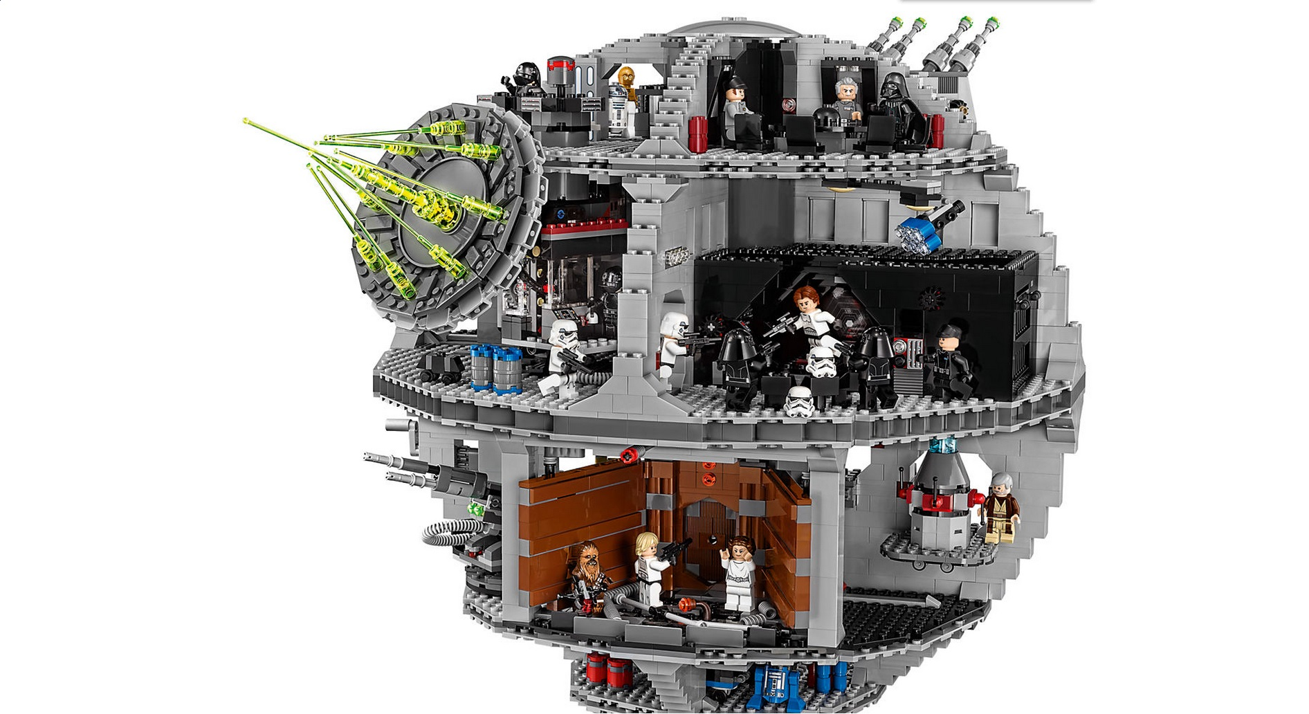 05063 4016pcs New Genuine Star War Force Waken UCS Death Star  Building Blocks Bricks Toys  Gifts compatible bricks 75159