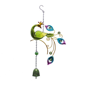 Peacock Hanging Ornament Home