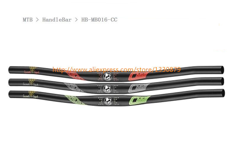 FOURIERS MTB HandleBar HB-MB016-CC Mountain Bicycle HandleBar Alloy 7050-T73 bike handlebars 31.8X680/760mm fouriers mtb handlebar hb mb016 cc mountain bicycle handlebar alloy 7050 t73 bike handlebars 31 8x680 760mm