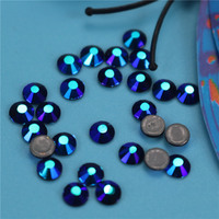 DMC Hotfix Crystals Rhinestone SS3 Jet Black Ab Free Brides Stones Garment Accessories Wholesale Cristal Swarovski