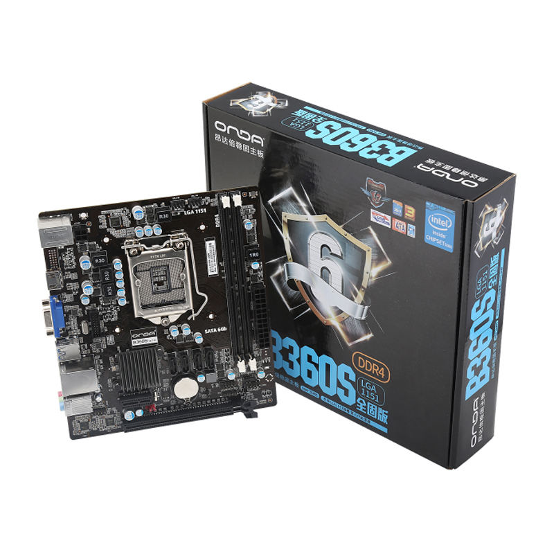 Onda B360S Motherboard Desktop Gaming Motherboard Intel LGA 1151 E-sports Game Main board DDR4 DIMM PCI-E 3.0 VGA/HDMI SATA3.0