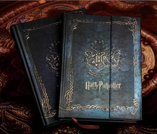 New Harry Potter Vintage Notebook/Diary Book