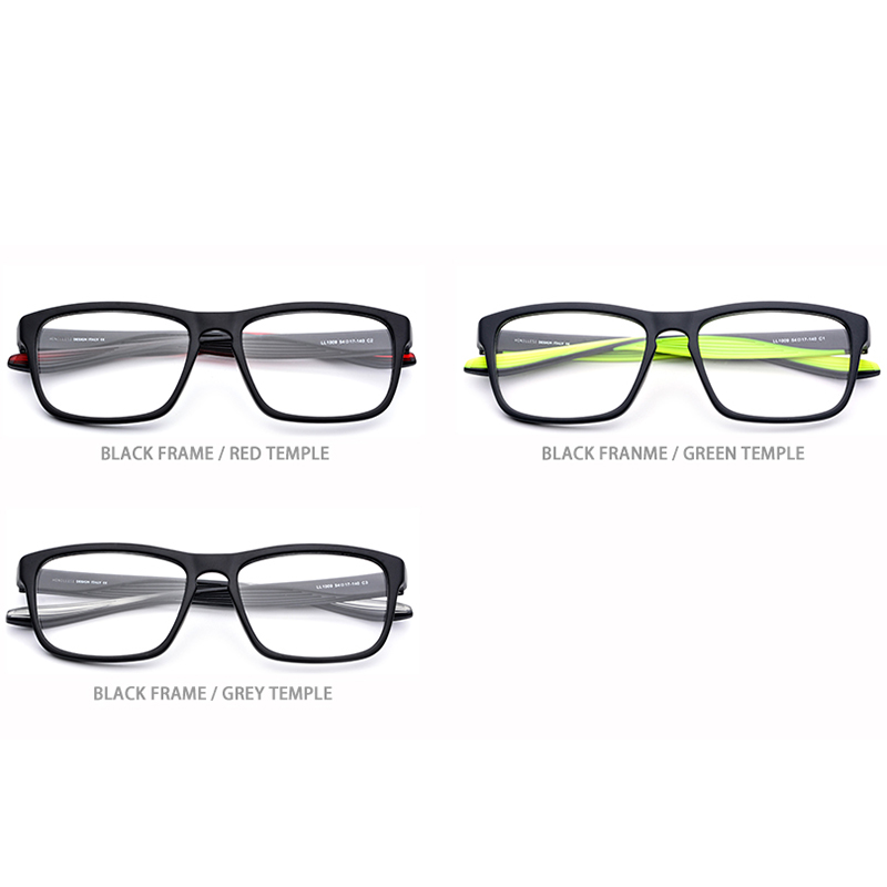 TR90 Glasses Frame Men Sports Prescription Eyeglasses Women Outdoor Big Oversize Square Spectacles Myopia Optical Frames Eyewear in Men 39 s Eyewear Frames from Apparel Accessories