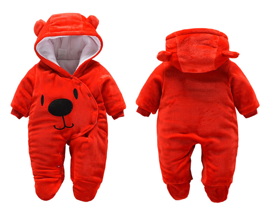 HTB1HmbYal1D3KVjSZFyq6zuFpXaY winter fleece baby rompers long sleeve newborn coat jumpsuit baby clothes boy girl clothing soft infant new born warm rompers