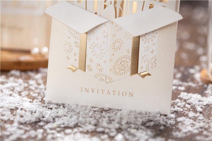 Peckforton Castle Pocketfold Wedding Invitation Includes Rsvp Guest Information 1