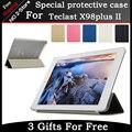 Высокое качество Ультра-тонкий Кожаный Чехол Для Teclast X98 Plus II 9.7 дюймов Tablet PC защитная крышка Freeshipping + подарок