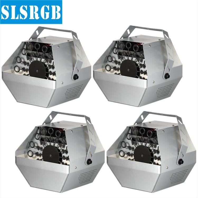 4PCS/LOT Bubble Machine Stage Effect Machine DJ Effect Equipment Remote Control american dj bubble junior купить