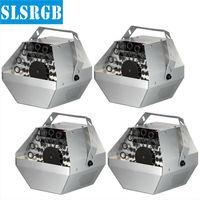 4PCS/LOT Bubble Machine Stage Effect Machine DJ Effect Equipment Remote Control