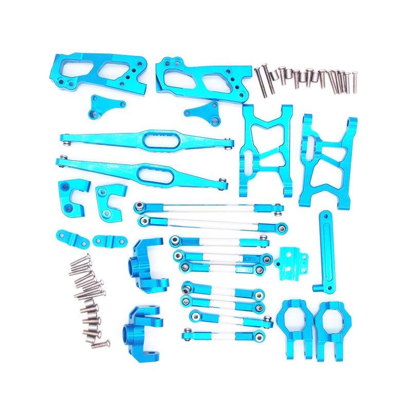 Mise à niveau En Métal pièces de kit pour Feiyue FY03 WLtoys 12428 1/12 voiture buggy rc Pièces