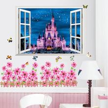 Castle wall Sticker Room Bedroom