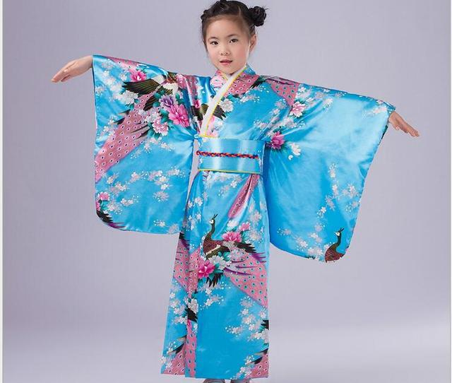 0f6aa73ab0 JAPANESE KIMONO CHILD COSTUMES ASIAN PRINCESS KIDS GEISHA COSTUME-in ...