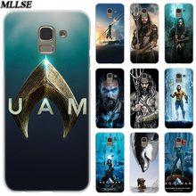 MLLSE Movie Aquaman Fashion Clear Case Cover for Samsung Galaxy J2 J4 CORE J3 J5 J7 2016 2017 EU J8 J6 2018 J4 Plus J7 Prime Hot