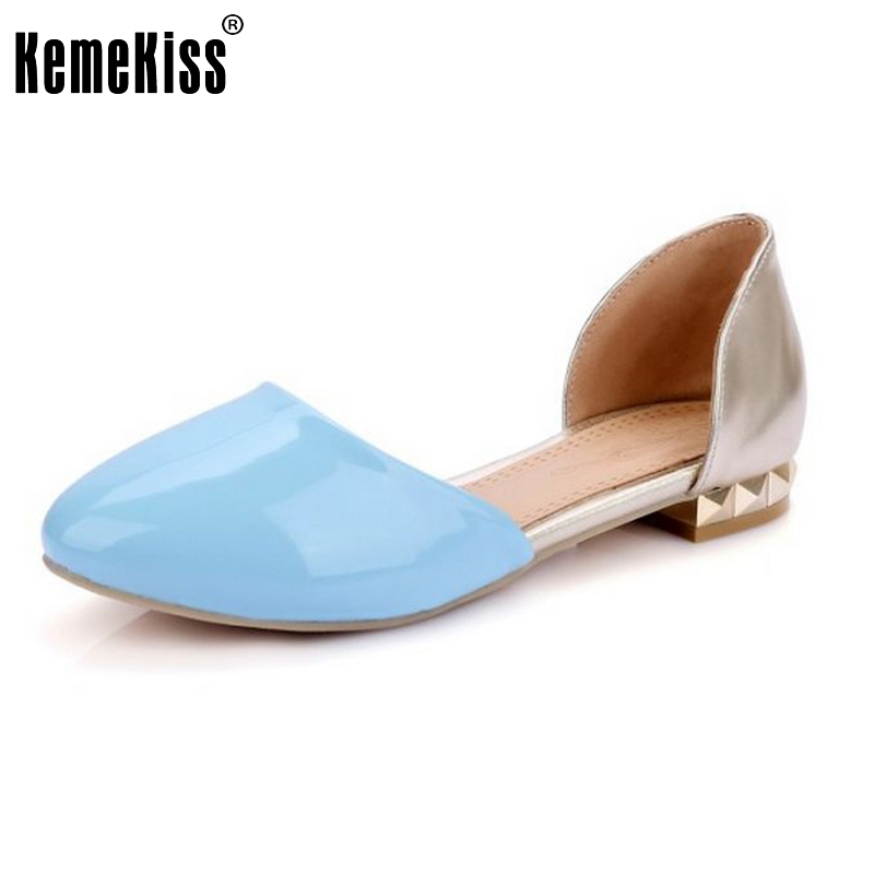 Women Flat Sandals Fashion Ladies Pointed Toe Flats Womens High Quality Mother Shoes Leisure Sandalias Shoes Size 31-47 PA00664 new 2015 fashion high quality lazy shoes women colorful flat shoes women s flats womens spring summer shoes size eu35 40wsh488